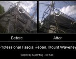 Fascia Repairs - before & after shots