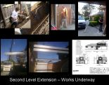 Second level garage extension