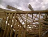 Truss roof - installed